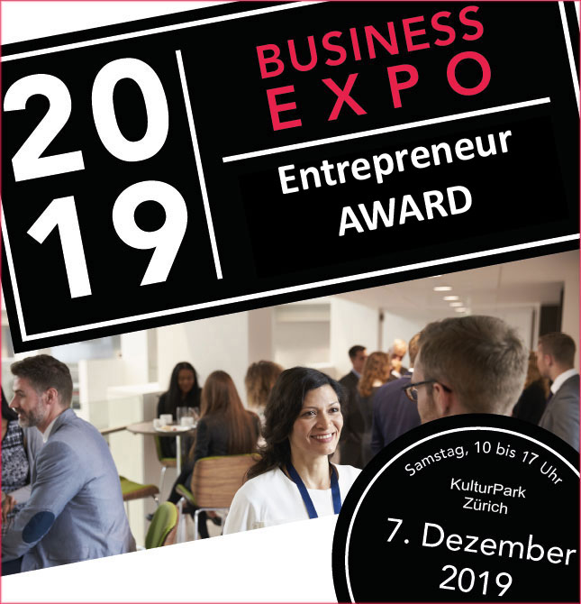 BUSINESS-EXPO 2019 mit dem Entrepreneur AWARD